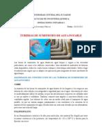 TUBERIAS DE SUMINISTRO DE AGUA POTABLE.docx