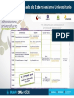 Programa Del Evento Extensionismo Universitario