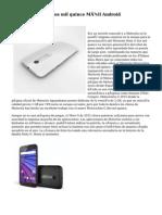 Motorola Moto G dos mil quince Móvil Android