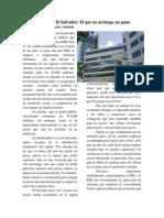 Deuda Pública en El Salvador (Jorge Benítez)