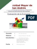 Evaluación de La Economía