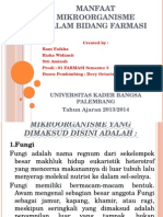 PPT manfaat mikroorganisme