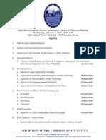 LMU Board Meeting October 7, 2015 Agenda packet