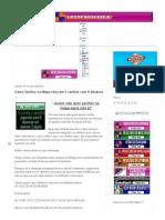- Esquemas - Planilhas - Desdobramentos _____ Como Ganhar na Mega-sena em 3 cartões com 9 dezenas - Lotofácil Dica - Palpites.pdf