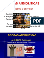 Drogas ansioliticas