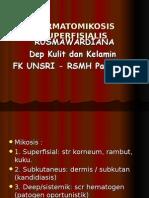 Dermatomikosis (Penyakit Kulit Akibat Jamur) - RUSMA