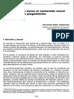 REFLEXIONES EN TORNO AL CONTENIDO MORAL DE LOS ACTOS DE JUZGAMIENTO