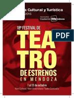 Agenda Cultura Octubre 2015