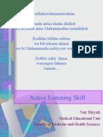 Active Listening Farmasi2010