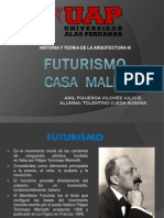 Futurismo PROYECTO Casa Malin LR ARQ John Lautner