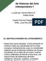 El Abstraccionismo en Latinoamerica