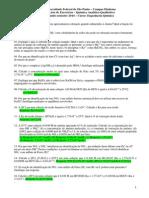 1a Lista de Exercícios de Quali-Teoria e Prática-EQ