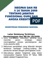 1. Permenegpan 16-2009