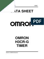 Omron h3cr-g Timer