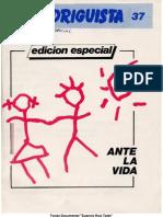 EL RODRIGUISTA (FPMR-PC) N° 37 [1989, Junio]