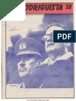 EL RODRIGUISTA (FPMR-PC) N° 38 [1989, Septiembre]