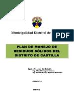 Plan de Manejo de Rr.ss Castilla 2014