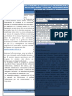 Boletín Septiembre 2015. Doctorado