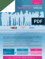 Orientación y Consejería en Planificación Familiar