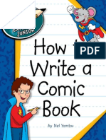 How to Write a Comic Book - Explorer Junior Library How to Write