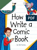 How to Write a Comic Book - Explorer Junior Library How to Write