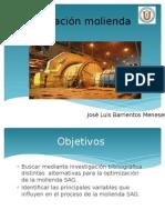 Optimización Molienda SAG
