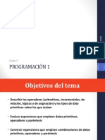 Clase 3 - Operadores programacion java