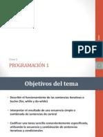 Clase 5 - Sentencias Iterativas programacion java