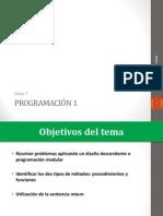 Clase 7 - Diseño Descendente y Parámetros (Con Ejercicios Tipo Parcial) programacion java