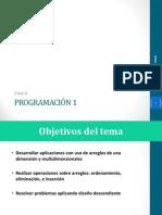 Clase 8 - Arreglos programacion java