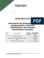 ONS- Indicadores de Desempenho-Submódulo 25.8_Rev_1.1