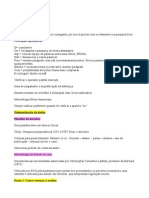 Anotações Luly Fischer - Metodologia de Estudo de Jurisprudência
