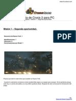 Guia Crysis 2 Pc