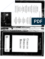 Curso de Derecho Romano - Bracey Wilson Volochinsky