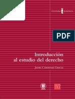 Introducción Al Derecho - Juán Cárdenas Gracia UNAM