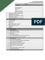 Estructura de Presupuesto  Perfil