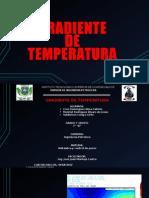 Gradiente de Temperatura