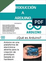 Intro Duccion a Arduino