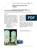 TP 163 Demineralizer Process Industry