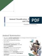 animal classification phylogeny and organization 1