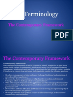 the contemporary framework pdf