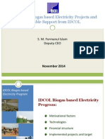 Biogas Based Projects IDCOL Formanul-Islam