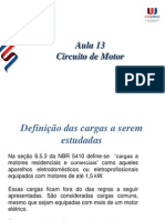 Aula12- Circuitos de Motores