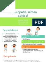 Maculopatía Serosa Central