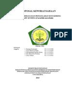 Proposal Kewirausahaan Budidaya Dan Pengolahan Labu Kuning STPP Jurluhtan