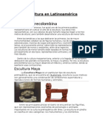 Escultura latinoamericana