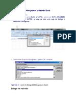 Histogramas Excel