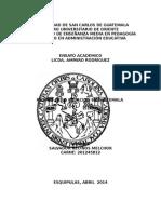 Pilares de La Educacion en Guatemala