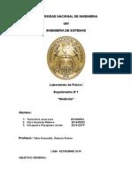 Informe de Laboratorio 1 Fisica 1
