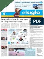 Edicion Impresa El Siglo 06-10-2015